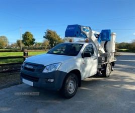 USED 2016 ISUZU D-MAX CPL A314 NOT SPECIFIED 23,127 MILES IN WHITE FOR SALE | CARSITE