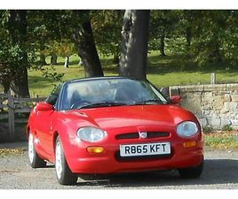 MG, MGF, CONVERTIBLE, 1997, MANUAL, 1796 (CC), 2 DOORS. 1 YEARS MOT.