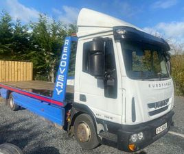 2014 IVECO EUROCARGO TILT AND SLIDE FOR SALE IN MONAGHAN FOR €18,750 ON DONEDEAL
