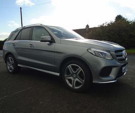 MERCEDES-BENZ GLE CLASS 2.1 GLE250D AMG LINE G-TRONIC 4MATIC (S/S) 5DR