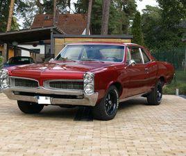 1967 PONTIAC LEMANS (GTO) 455CUI V8 (7,5L)
