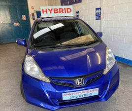 2012 HONDA FIT 1.3 HYBRID -5DOOR HATCHBACK FOR SALE IN WATERFORD FOR €6495 ON DONEDEAL