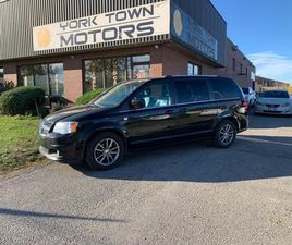 USED 2014 DODGE GRAND CARAVAN 30TH ANNIVERSARY/1 OWNER/NO ACCIDENT/BLUETOOTH