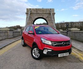 USED 2018 (68) SSANGYONG KORANDO 2.0 SE 5DR IN ABERDEEN