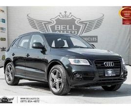USED 2016 AUDI Q5 2.0T PROGRESSIV, S-LINE, AWD, NO ACCIDENTS, NAVI, SENSORS, PARK ASST