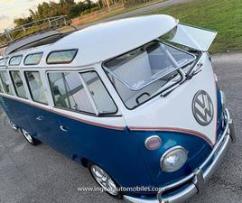 1963 VOLKSWAGEN MICROBUS TYPE 2 VW BUS 23 WINDOWS! SEE VIDEO!
