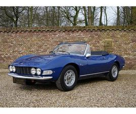 FIAT DINO SPIDER 2000 WITH ONLY 81000 KM FROM NEW (1967)