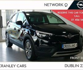 OPEL CROSSLAND X SC 1.2 PETROL CHROME PACK 2.9 F FOR SALE IN DUBLIN FOR €23950 ON DONEDEAL