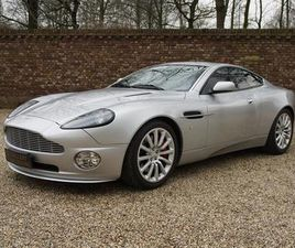 ASTON MARTIN VANQUISH V12 ONLY 49.752 KMS FROM NEW! FAMOUS 1ST OWNER, EU CAR, S-SPEC, KNOW