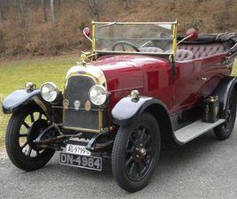 PREWAR FIAT 501 WITH UK BODY (1923)