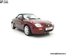 A LIMITED EDITION INDIVIDUALLY NUMBERED MGF 75TH ANNIVERSARY WITH 12,695 MILES (1999)