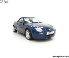 AN ASTONISHING MGF FREESTYLE SPECIAL EDITION WITH JUST 15,337 MILES FROM NEW (2001)