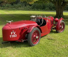 1930 RILEY NINE 'BROOKLANDS EVOCATION' BUILT BY ALLEN CLEAR (1930)