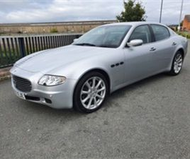 USED 2007 MASERATI QUATTROPORTE 4.2 V8 4DR AUTOMATIC SALOON 82,000 MILES IN GREY FOR SALE