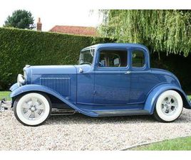1932 MODEL B COUPE V8 ALL HENRY STEEL. THE BEST AVAILABLE. HOT ROD (1932)