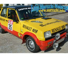 RENAULT / R5 ALPINE RALLY GR A
