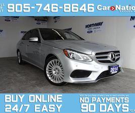 USED 2014 MERCEDES-BENZ E-CLASS E250   DIESEL   4MATIC   LEATHER   NAV   SUNROOF