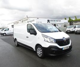 RENAULT TRAFIC LL29 DCI 120 BUSINESS 3DR FOR SALE IN DUBLIN FOR €11,950 ON DONEDEAL