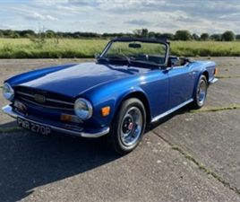 USED 1975 TRIUMPH TR6 2.5 NOT SPECIFIED 98,148 MILES IN BLUE FOR SALE | CARSITE