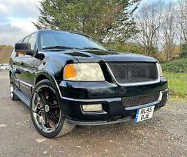 FRESH IMPORT 55 PLATE FORD EXPEDITION EXPLORER EDDIE BAUER 5.4 V8 AUTO 8 SEATS