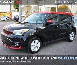 USED 2016 KIA SOUL EV PREOWNED ELECTRIC/ EV LUXURY/WE ARE OPEN, BOOK YOUR APPOINTMENT/LEAT