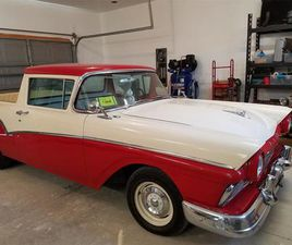 FOR SALE: 1957 FORD RANCHERO IN ORDWAY, COLORADO