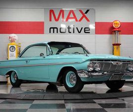 1961 CHEVROLET BEL AIR COUPE