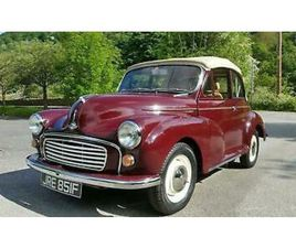 MORRIS MINOR CONVERTIBLE BUILT TO YOUR SPEC! ANY COLOUR TRIM