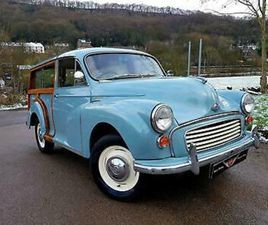 MORRIS MINOR 1000 TRAVELLER, GOOD RELIABLE SOLID CAR!