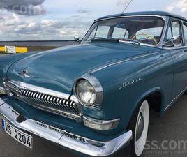 SLUDINĀJUMI. VIEGLIE AUTO - GAZ - 21, FOTO. CENA 14 900 €. TIEK PĀRDOTA GAZ 21 LUX , VĒSTU