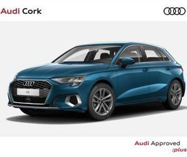 AUDI A3 A3 SPORTBACK 1.0 35TFSI 110BHP SE WITH CO FOR SALE IN CORK FOR €36,195 ON DONEDEAL
