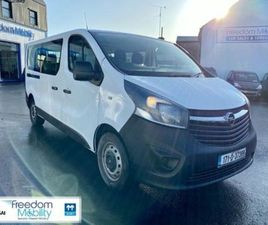 OPEL VIVARO 9 SEATER WHEELCHAIR ACCESSIBLE TAXI. FOR SALE IN MAYO FOR €26,000 ON DONEDEAL