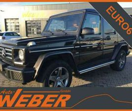 MERCEDES G 350 D LIMITED EDITION 1OF 463 SCHIEBEDACH AHK