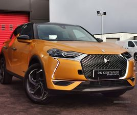 >MAY 2019 DS 3 CROSSBACK 1.2 PURETECH 155 ULTRA PRESTIGE 5DR EAT8