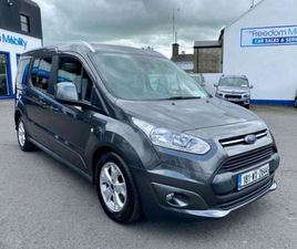 FORD TRANSIT CONNECT WHEELCHAIR 5 OR 7 SEATS TAXI FOR SALE IN MAYO FOR €25,000 ON DONEDEAL