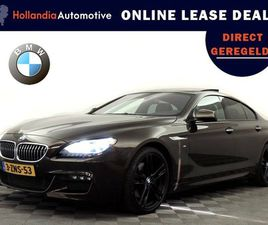 BMW 6 SERIE GRAN COUPÉ 640I M-SPORT AUT8 HIGH EXECUTIVE (PANODAK,FULL OPTIONS) ....