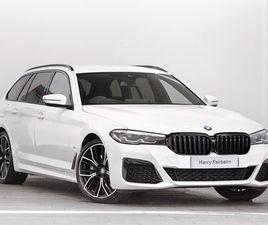 BRAND NEW BMW 5 SERIES 530D XDRIVE MHT M SPORT 5DR AUTO