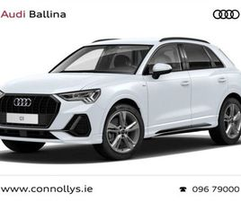 AUDI Q3 35 TDI 150BHP S-T(AUTO) S-LINE BLACK PACK FOR SALE IN MAYO FOR €50,521 ON DONEDEAL
