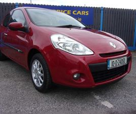 RENAULT CLIO, 1.1 PETROL 2010 FOR SALE IN DUBLIN FOR €4,950 ON DONEDEAL