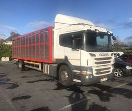 SCANIA LIVESTOCK TRUCK FOR SALE IN MAYO FOR €25,000 ON DONEDEAL
