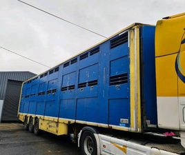 MICHIELETTO 2 DECK LIVESTOCK TRAILER FOR SALE IN ROSCOMMON FOR €24,500 ON DONEDEAL