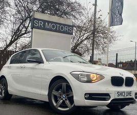 BMW 1 SERIES 1.6 114D SPORT SPORTS HATCH (S/S) 5DR