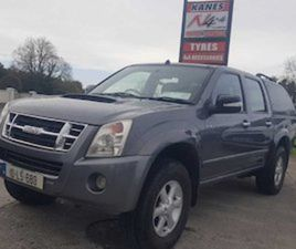 ISUZU D-MAX, 2010 NEW CVRT FOR SALE IN LONGFORD FOR €10500 ON DONEDEAL