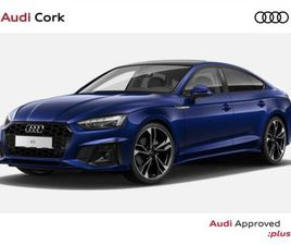 AUDI A5 A5 SPORTBACK 2.0 35TDI S-LINE AUTO BLACK FOR SALE IN CORK FOR €62,117 ON DONEDEAL