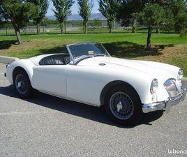 MG MGA 1956 1500CC BLANCHE