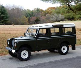 1982 LAND ROVER SERIES 3 109 LONG WHEELBASE