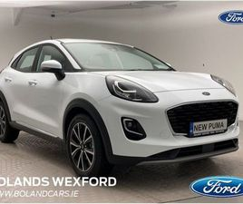 FORD PUMA TITANIUM 1.0L FORD ECOBOOST HYBRID (MHE FOR SALE IN WEXFORD FOR €27,799 ON DONED