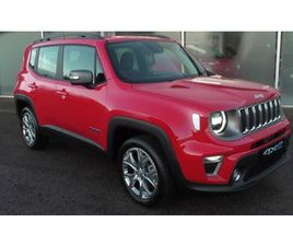 JEEP RENEGADE 4XE 190 HP AT6 EAWD LIMITED 1.3 5DR