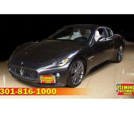 FOR SALE: 2012 MASERATI GRANTURISMO IN ROCKVILLE, MARYLAND
