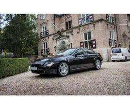 BMW 6-SERIE 645CI/ZEER NET/HIFI/YOUGTIMER UIT 01-07-2004 AANGEBODEN DOOR NIK VAN DER EST